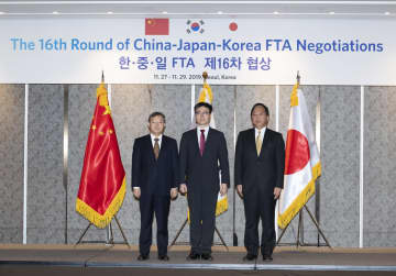 第16回中日韓FTA交渉会合、ソウルで開催