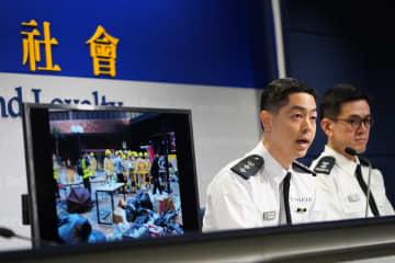 6月以降の逮捕者は5890人に 香港警察