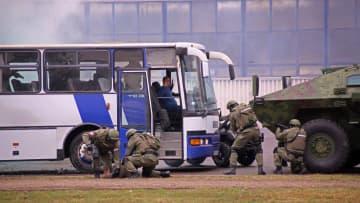 中国とセルビアの特殊警察部隊、初の合同演習実施