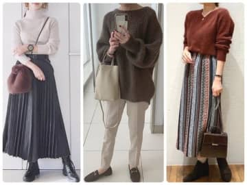 40代の秋冬ファッションでついやってしまいがちな、NGコーデについてご紹介します。色使いや肌見せの分量、意外に目立つ足元などについて、簡単な改善ポイントもお伝えします。