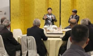 来季BC新潟総合コーチの橋上さん講演 「新潟野球人」設立15年で式典
