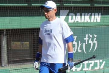 ほっともっとフィールド神戸で行われた草野球の試合に出場したイチロー氏【写真:橋本健吾】
