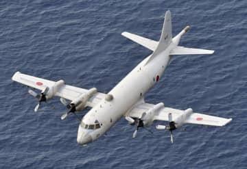 海上自衛隊のP3C哨戒機