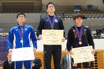 <レスリング>【写真集】2019年東日本学生秋季選手権/男子グレコローマン・表彰式