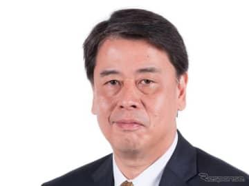 日産自動車内田社長(10月、フォーミュラEシーズンキックオフ会見)