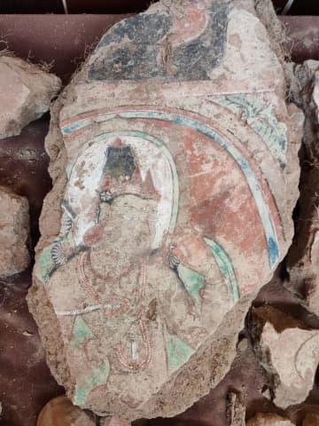 瀾滄江水源地区で13世紀の仏教壁画見つかる 青海省玉樹自治州