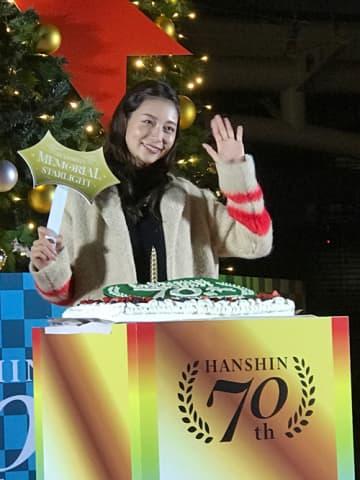 女優の相武紗季さん(写真:ラジオ関西)