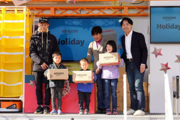 アマゾン/被災地に笑顔を届けるプロジェクトを長野で開催