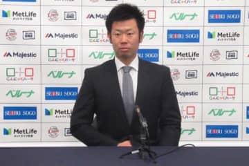 契約更改に臨んだ西武・榎田大樹【写真:安藤かなみ】