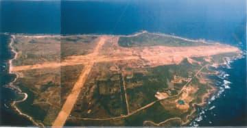 2009年12月馬毛島上空から撮影