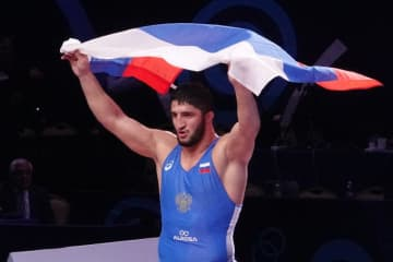 97kg級で2年連続世界一に輝いたアブデュラシド・サデュラエフ(ロシア)だが…