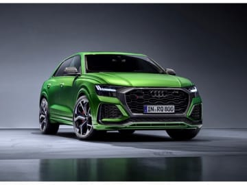 新型Audi RS Q8、4リッターV8直噴ターボエンジン搭載し、441kW(600hp)/800Nmから、0~100km/h加速3.8秒、最高速度250km/h(リミッター作動)に導く