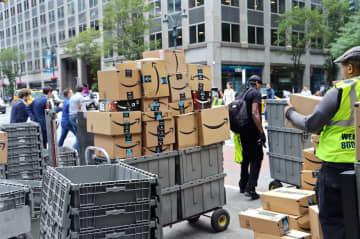 米サイバーマンデー、ネット通販が1兆円超え。アマゾンは過去最高