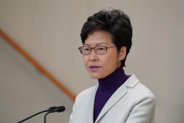 香港は中央政府の外交に関する要求に歩調を合わせる 林鄭行政長官