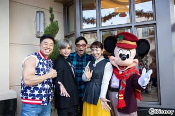 中島健人がアメリカのディズニーランドへ! クリスマスならではのイベントに大興奮!!