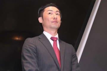 契約更改に臨んだソフトバンク・明石健志【写真:藤浦一都】