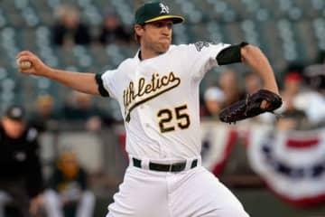 MLBではアスレチックスなどに在籍したジョシュ・リンドブロム【写真:Getty Images】