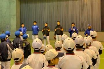 北海道胆振東部地震の被災地を訪問した現日本ハム、元日本ハム選手たち