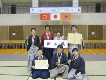 初の準優勝を果たした本県チーム