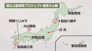 環境省に指定された先行モデルの国立公園