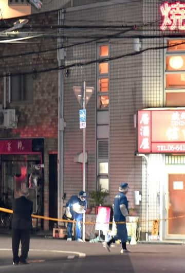 神戸山口組の古川恵一幹部が射殺された現場付近=11月27日、兵庫県尼崎市