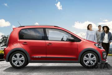 VW 限定モデル「cross up!」 ボディカラー:トルネードレッド(G2) 2019年12月発売
