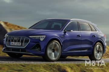 Audi e-tron より優れた効率と長い航続距離へアップデート
