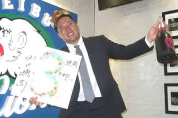 契約更改に臨んだ西武・山川穂高【写真:安藤かなみ】
