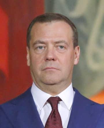 ロシアのメドベージェフ首相(ロイター=共同)