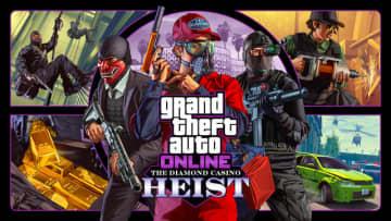 『GTAオンライン』に12月12日より新強盗ミッション「ダイヤモンドカジノ強盗」が追加!
