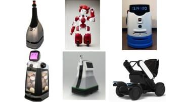 本実証実験で稼働するロボットたち 画像:JR東日本