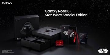 """スター・ウォーズコラボの「Galaxy Note10+」登場。テーマは""""ダークサイド""""、同梱完全ワイヤレスも限定デザイン"""