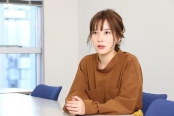 インタビューにこたえる大木亜希子さん(2019年11月14日BOOKウォッチ編集部撮影、以下同)