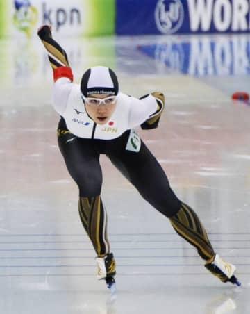 女子1000メートルで4位だった小平奈緒=ヌルスルタン(共同)