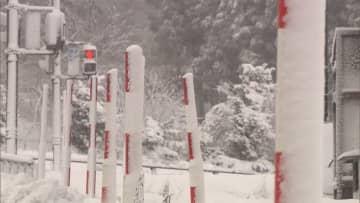 各地で今季一番の冷え込み 7日は関東で雪のところも
