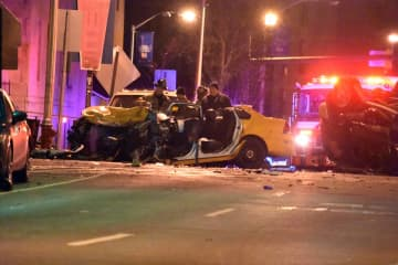 Man dies after 2-car collision on Kennedy Boulevard in Jersey City, cops say