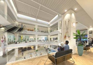 大型商業施設「iias(イーアス)沖縄豊崎」の内観イメージ(大和ハウス工業提供)