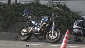 交差点で自転車と衝突、バイクの18歳死亡2人重軽傷 名古屋・栄
