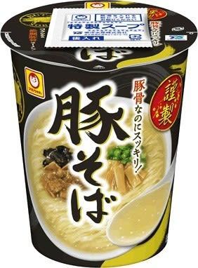 豚骨ながらもスッキリ淡麗 「豚清湯」の味わい再現したカップ麺 画像