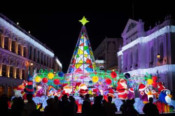 もうすぐクリスマス マカオでイルミネーション点灯式開催