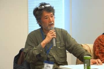 現代美術家、会田誠さん(2019年12月6日、衆議院第二議員会館、弁護士ドットコムニュース撮影)
