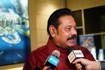 対中友好関係の継続発展希望 スリランカ新首相表明