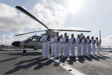 中国海軍護送艦隊、ケニアのモンバサ港に寄港