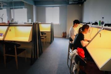 有料自習室が密かなブーム 上海市