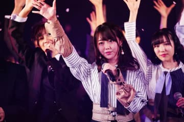 卒業発表したAKB48の峯岸みなみさん(c)AKS