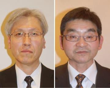 伊東秀之教授(左)と杉本幸雄准教授