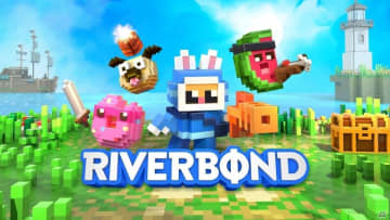 ブロックで作られた世界を冒険するアクションゲーム「Riverbond」PS4/Switch版が発売!