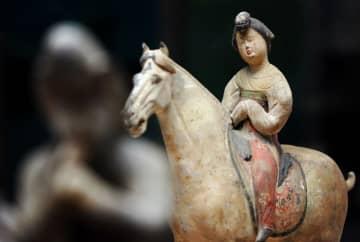 唐代の騎馬姿の女性俑が魅力的 西安博物院を訪ねて 陝西省