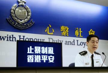 6月以降の逮捕者は6千人余り、約4割が学生 香港警察