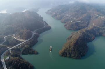 漢江上流の優れた水質を守る 陝西省